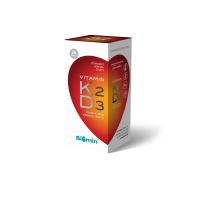 BIOMIN Vitamin K2+D3 1000 I.U. 60 tobolek