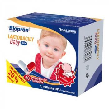 BIOPRON Laktobacily Baby BiFi+ 60 vysypávacích tobolek