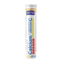 BIOTTER Calcium FORTE s vitamínem C citrón tablety 20 ks