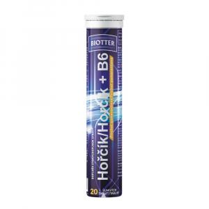 BIOTTER Hořčík s vitamínem B6 šumivé tablety 20 ks