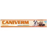 BIOVETA Caniverm perorální pasta pro psy a kočky 10 ml