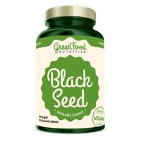 GREENFOOD NUTRITION Black seed černý kmín 90 kapslí