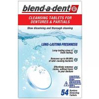 BLEND-A-DENT Čisticí tablety Freshness 54 ks