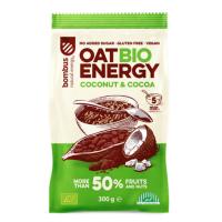 BOMBUS Oat energy coconut & cocoa ovesná kaše 300 g BIO