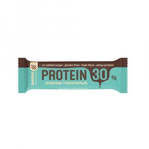 BOMBUS Protein 30% kakao a kokos 50 g