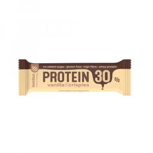 BOMBUS Protein 30% vanilka a křupinky 50 g