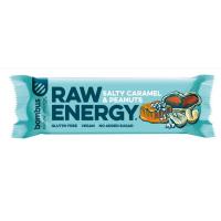 BOMBUS Raw energy salty caramel & peanuts 50 g