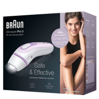 BRAUN Silk-expert Pro 3 PL3012 IPL Lavander epilátor
