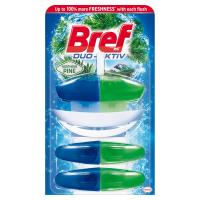 BREF Duo-Aktiv Northern Pine tekutý WC blok náhradní náplň 3x50 ml