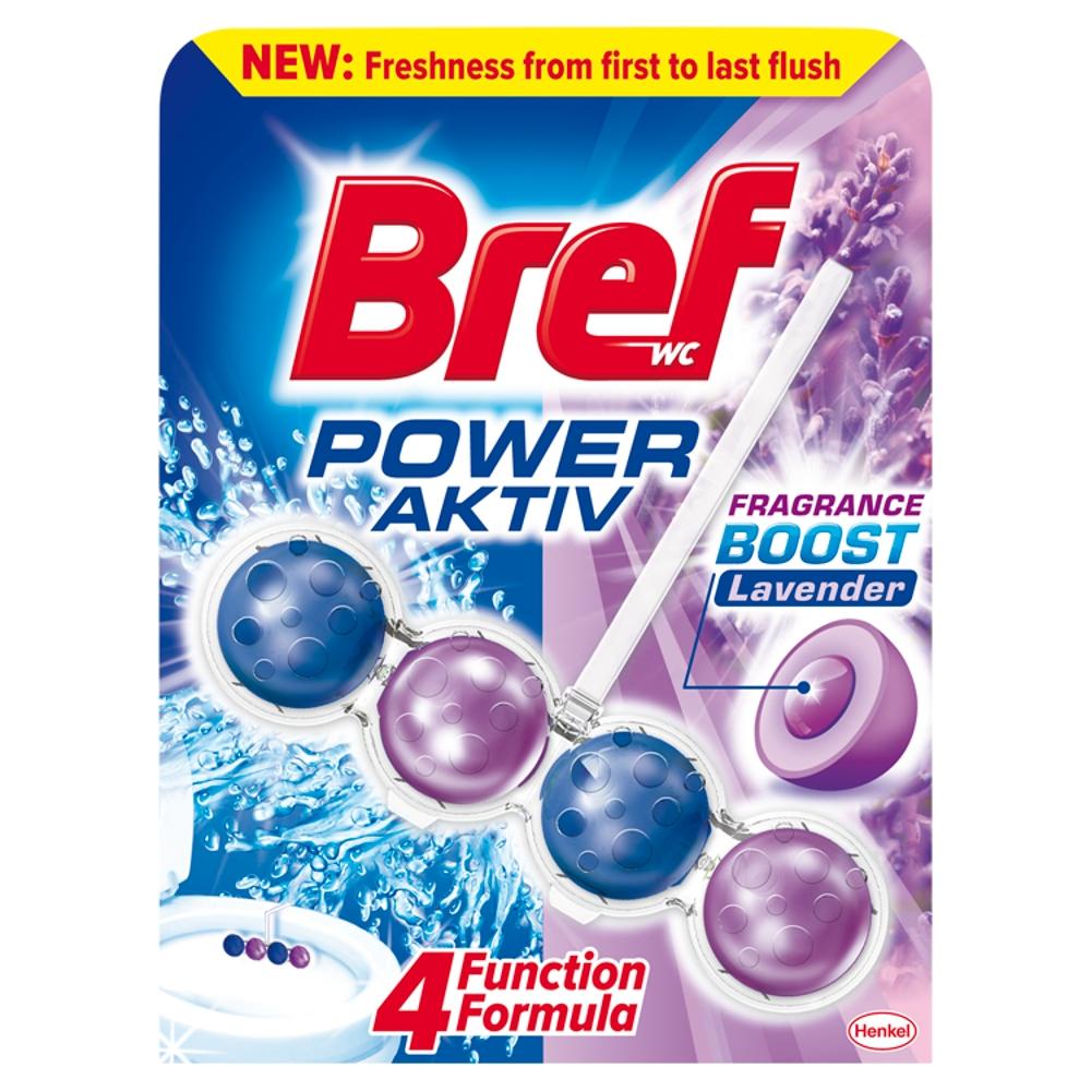 BREF Power Aktiv Lavender tuhý WC blok 50 g
