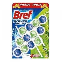 BREF Power Aktiv Pine WC závěsný blok  3 x 50 g