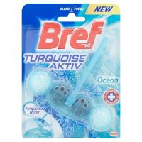 BREF Turquoise Aktiv Ocean tuhý WC blok 50 g