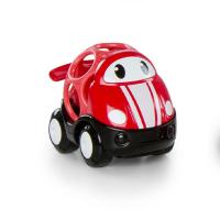 BRIGHT STARTS Hračka autíčko závodní Jack Oball Go Grippers červené 18m+