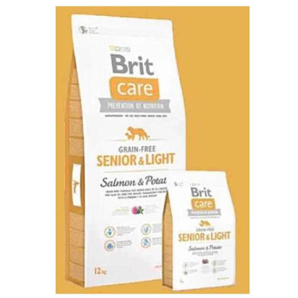 BRIT Care Dog Grain-free Senior Salmon & Potato 1 kg