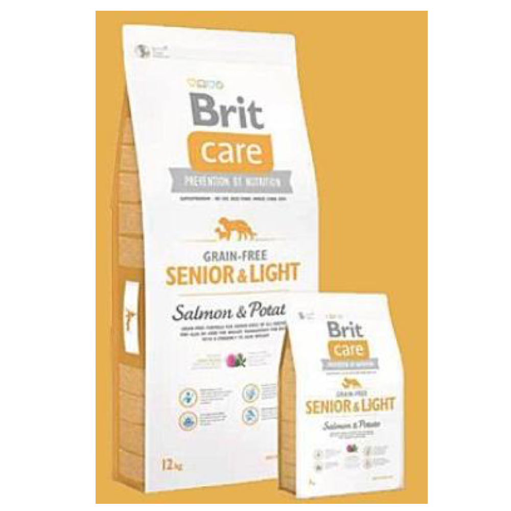 BRIT Care Dog Grain-free Senior Salmon & Potato 3 kg