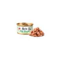 Brit Fish Dreams Tuna & Squid konzerva pro kočky 80 g