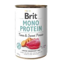 Brit MONO PROTEIN Tuna & Sweet Potato konzerva pro psy 400 g