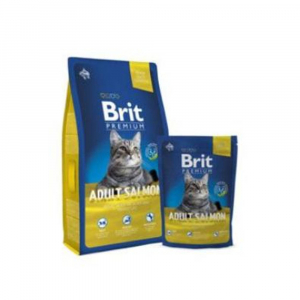 BRIT Premium Cat Adult Salmon 1,5 kg NEW