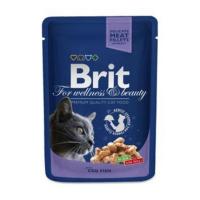 BRIT Premium Cat kapsa with Cod Fish 100 g