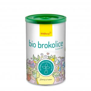WOLFBERRY Brokolice semínka na klíčení 200 g BIO