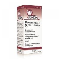 BROMHEXIN 8 KM kapky 20 ml
