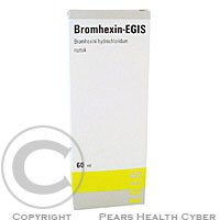 BROMHEXIN-EGIS  1X60ML/120MG Roztok