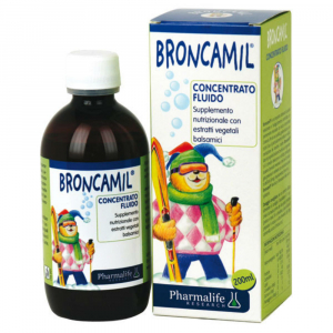 PHARMALIFE Broncamil roztok při problémech s dýcháním 200 ml