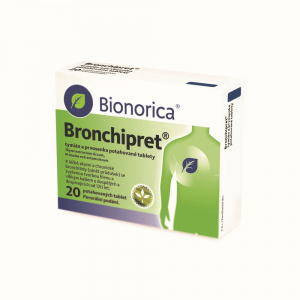 BRONCHIPRET 20 potahových tablet