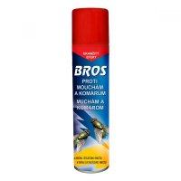 BROS Spray proti mouchám a komárům 400 ml