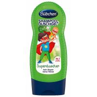 BÜBCHEN Kids Šampon a sprchový gel SUPERHRDINA 230 ml