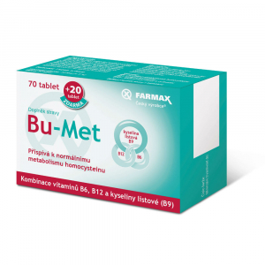 FARMAX Bu-Met 70 tablet + 20 tablet zdarma