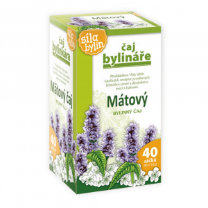 BYLINÁŘ Mátový bylinný čaj 40x1.6 g