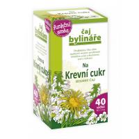 BYLINÁŘ Bylinný čaj Na krevní cukr 40x1,6 g