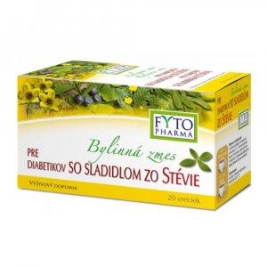 FYTOPHARMA Bylinná směs pro diabetiky se sladidlem stevie 20 x 1.5 g