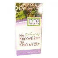FYTOPHARMA Bylinný čaj na křečové žíly 20x 1,25 g