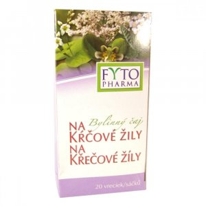 FYTOPHARMA Bylinný čaj na křečové žíly 20 x 1.25 g