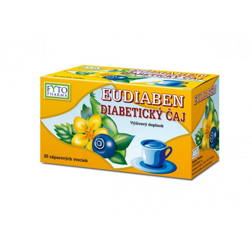 Fytopharma Byl.čaj se skořicí EUDIABEN 20 x 1.5 g