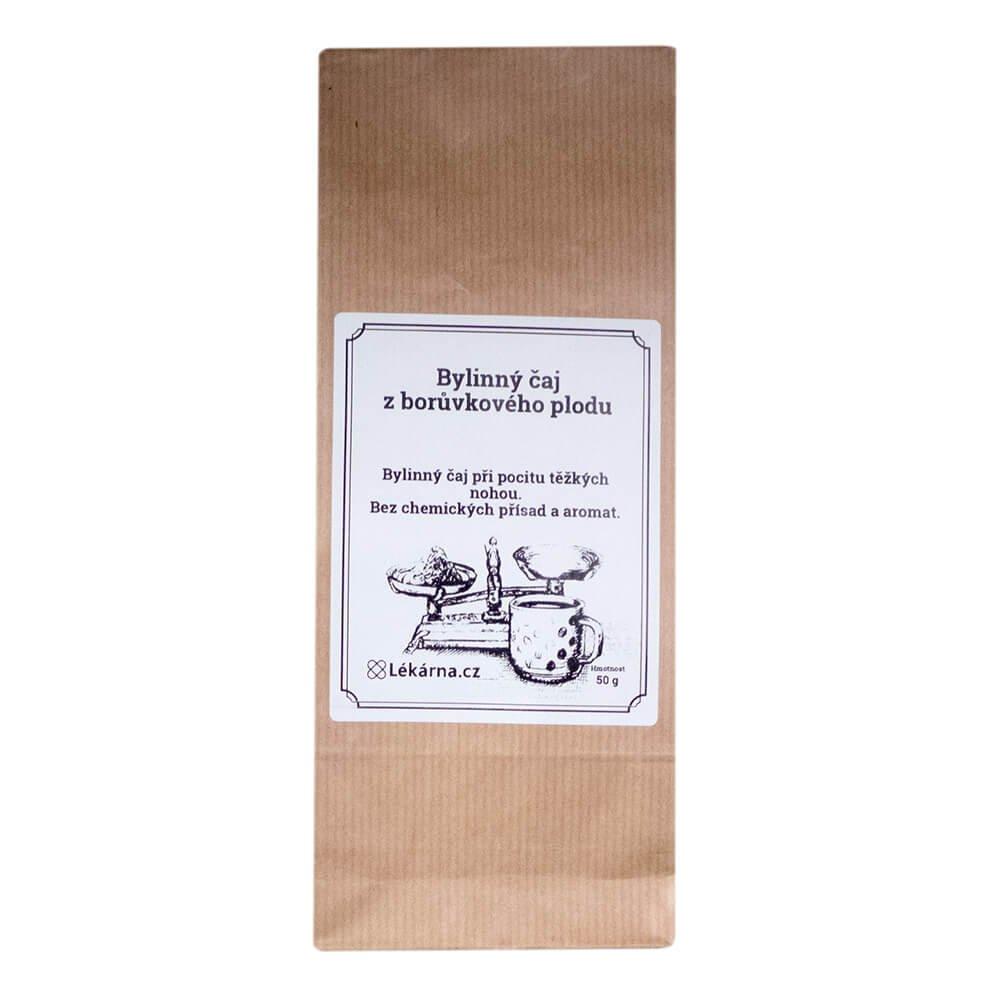 Bylinný čaj z borůvkového plodu od LÉKÁRNA.CZ 50 g