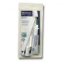 VIRBAC C.E.T. pes Zubní pasta enzymatická drůbeží 70 g + kartáčky