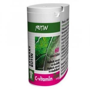 C-Vitamin 100 mg - Rutin se sukralózou tbl. 60