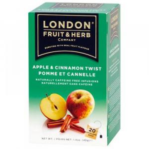 LONDON FRUIT & HERB Čaj Twist – Jablko se skořicí 20 x 2 g