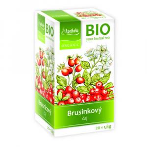 APOTHEKE Brusinkový ovocný čaj BIO 20x1,8g