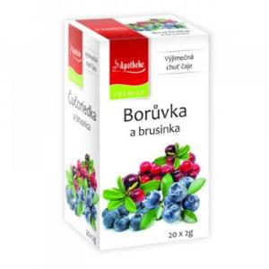 APOTHEKE Borůvka a brusinka 20 sáčků