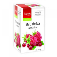 APOTHEKE Brusinka a malina 20 sáčků