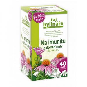 BYLINÁŘ Bylinný čaj Na imunitu a dýchací cesty 40x1,6 g