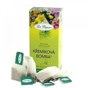 DR. POPOV Křemíková bomba čaj 30 g