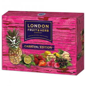 LONDON FRUIT & HERB Carnival Edition – směs čajů po 30 sáčcích