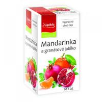 APOTHEKE Mandarinka + granátové jablko čaj 20x2 g
