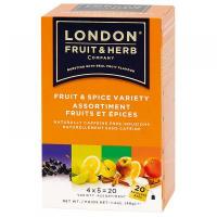 LONDON FRUIT & HERB Ovoce a koření variace 20x2 g