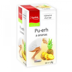 APOTHEKE Pu-erh a ananas 20 sáčků